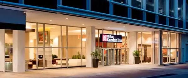 Hilton Garden Inn Downtown Dallas to Love Field Airport