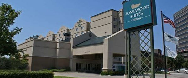 Homewood Suites Dallas Market Center to Love Field Airport